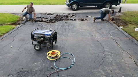 Driveway Concrete Repair by Gorilla Brothers (1)