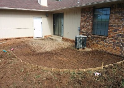 concrete pad and privacy fence by gorilla brothers (11)