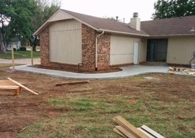 concrete pad and privacy fence by gorilla brothers (17)