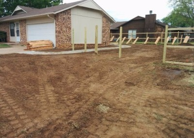 concrete pad and privacy fence by gorilla brothers (21)