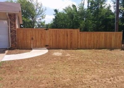 concrete pad and privacy fence by gorilla brothers (22)