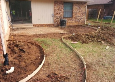 concrete pad and privacy fence by gorilla brothers (7)