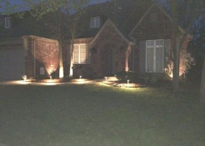 walkway lighting by gorilla brothers landscaping and remodeling (1)