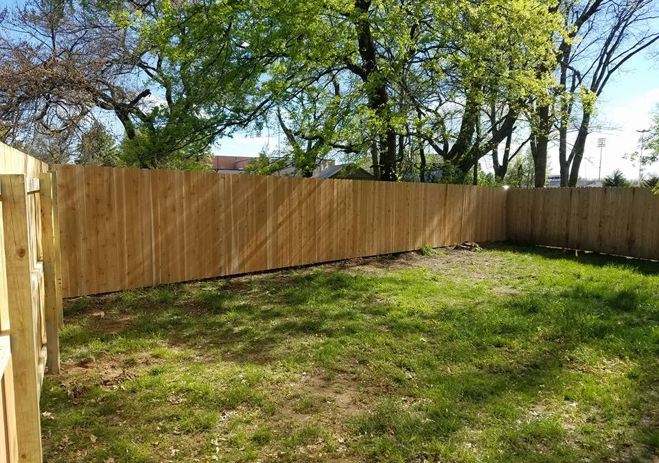 [Another] Privacy Fence in Tulsa