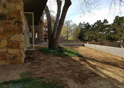 retaining wall and privacy fence gorilla brothers landscaping and remodeling (3)