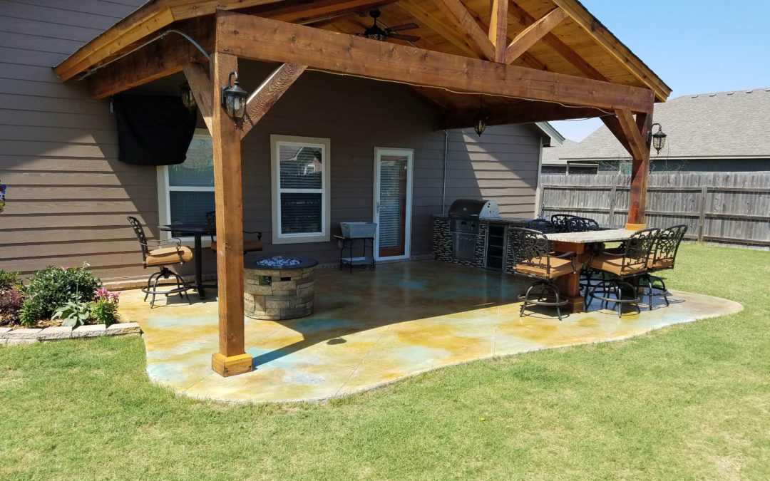 Lake Valley Outdoor Renovation | Owasso, OK