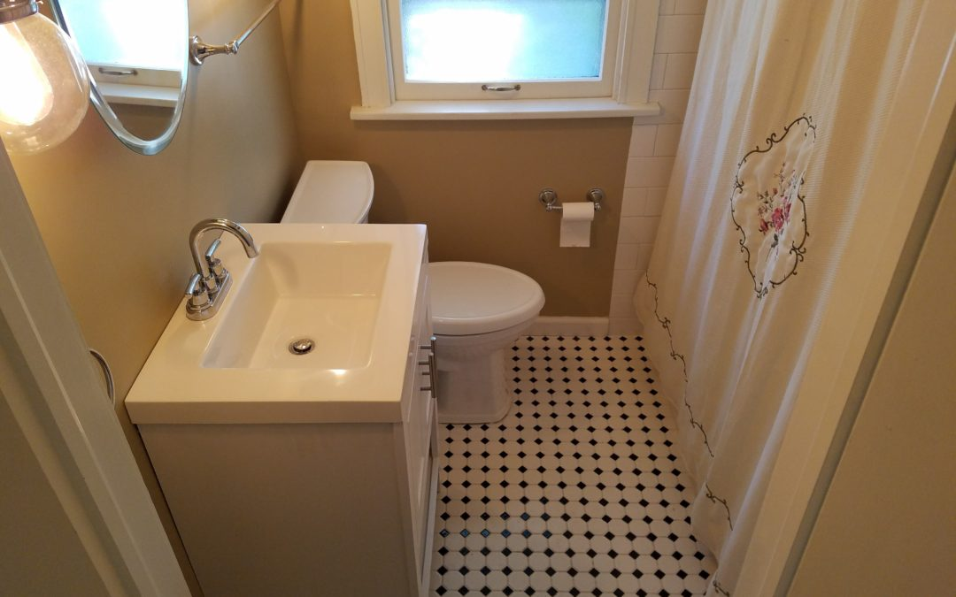 Tulsa Swan Lake U2013 1920s Bathroom Remodel