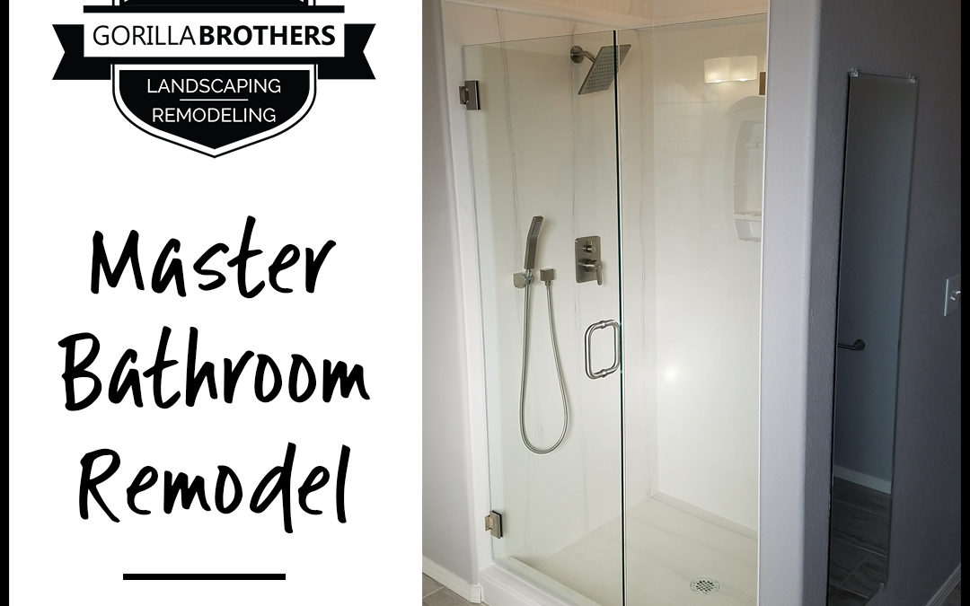 Contemporary Style Master Bathroom Remodel
