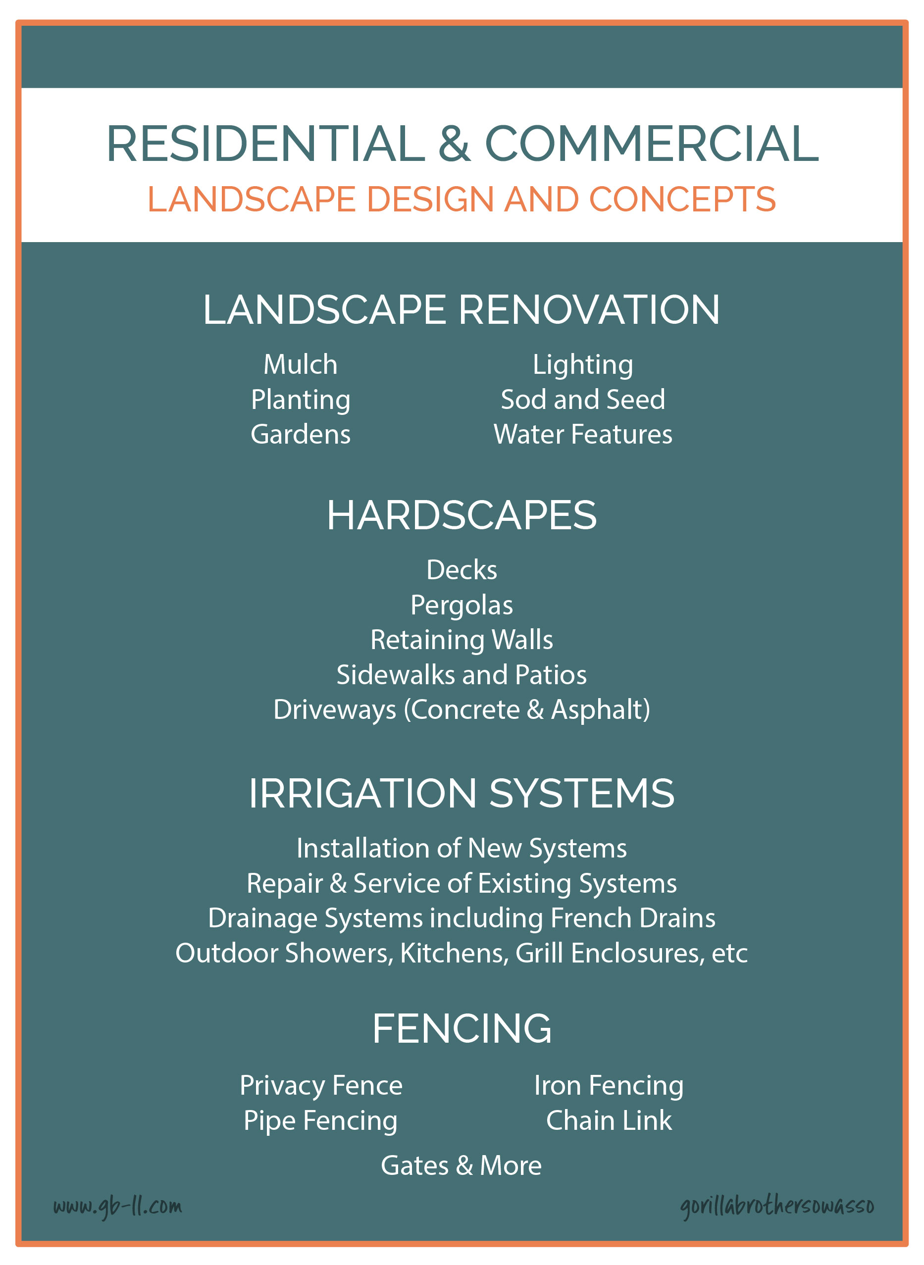 landscaping and hardscape design residential commercial