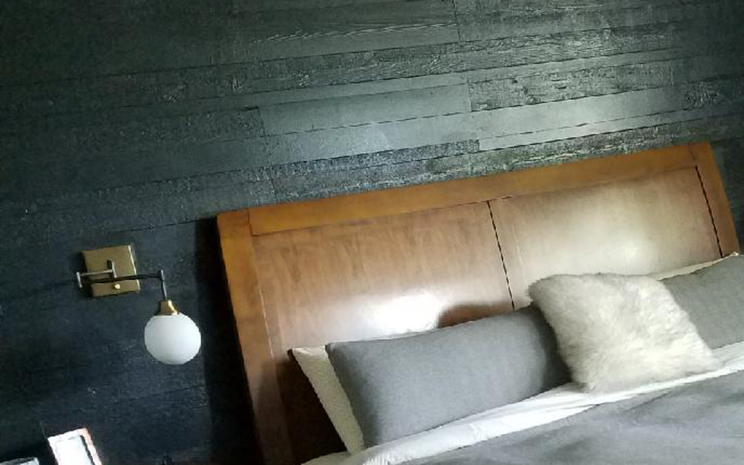 Updated Master Bedroom – Wood Accent Wall