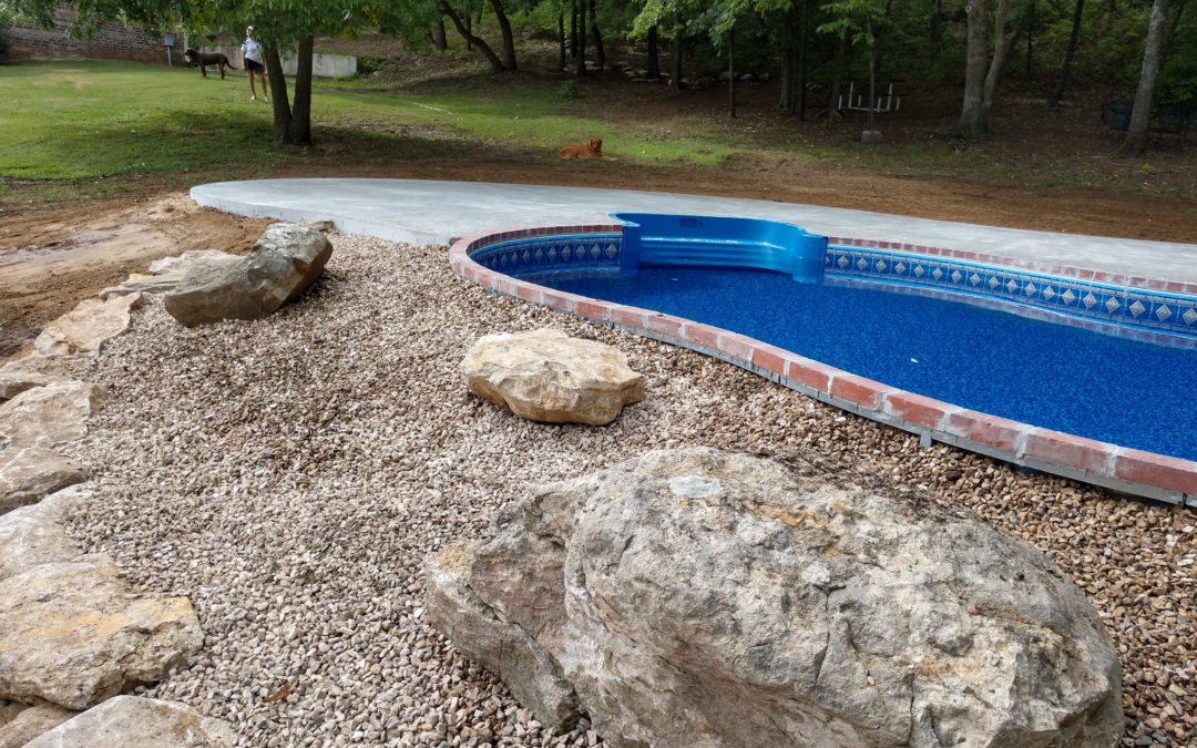 Swimming Pool Hardscaping