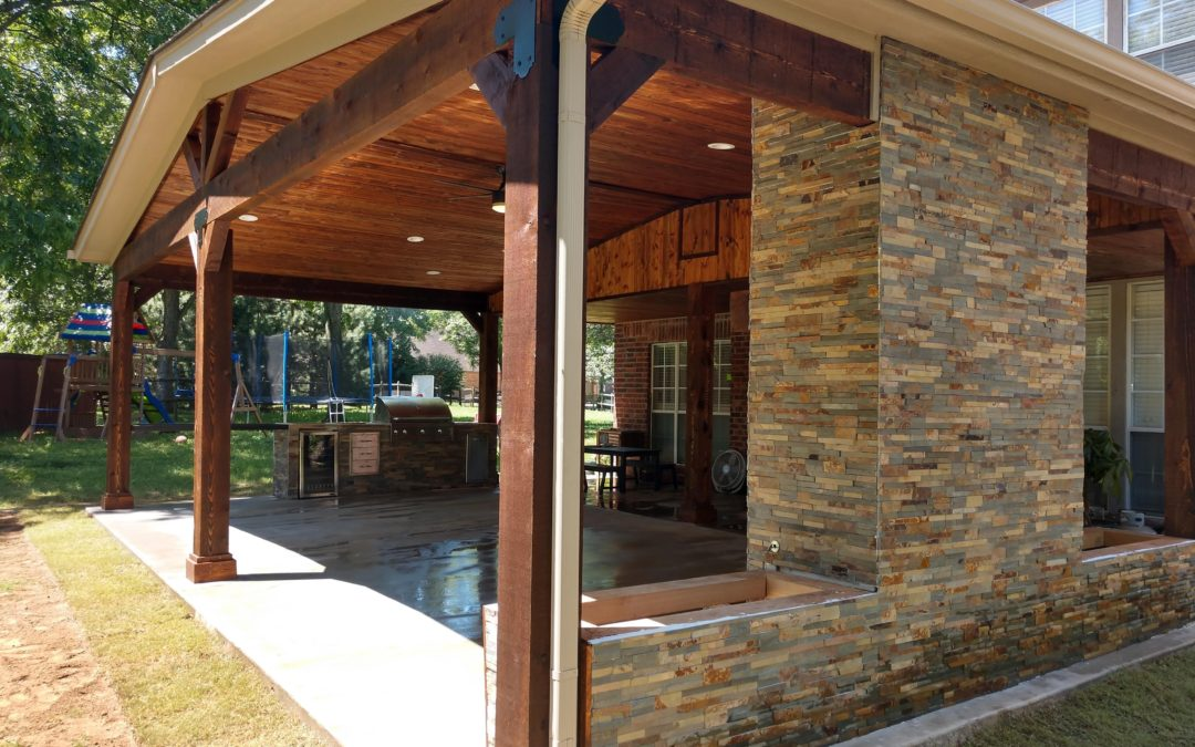 Outdoor Pavilion and Kitchen (Owasso, OK)